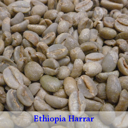 Ethiopia Harrar, Natural 1Kg