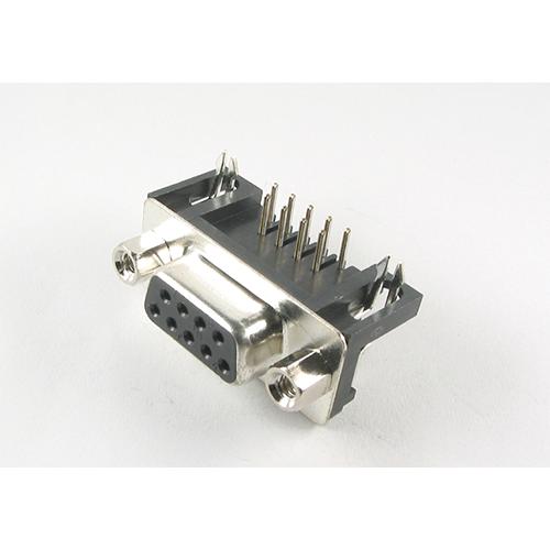 DB9 SOCKET PCB=DEL09SB
