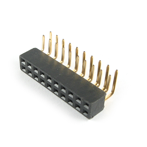 20PIN D MOUNT CONNECTOR RIGHT ANGLE LHDR-20G1