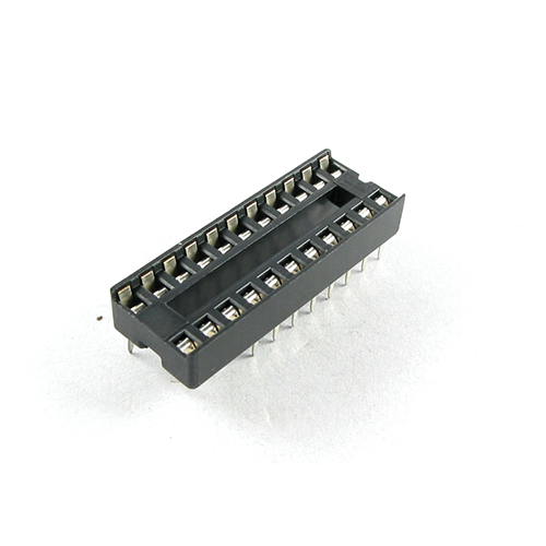 22P IC Socket 300 mil