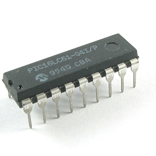PIC16LC61-04I/P MICROCHIP