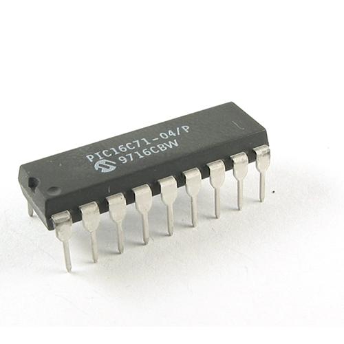 PIC16C71-04/P MICROCHIP