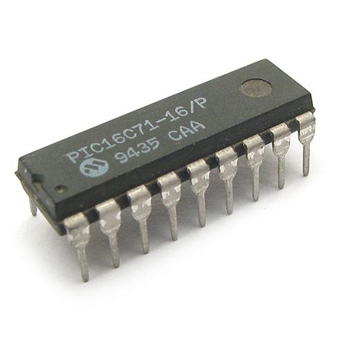 PIC16C71-16/P MICROCHIP