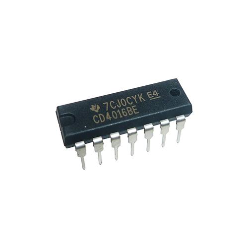 CD4016BE TI